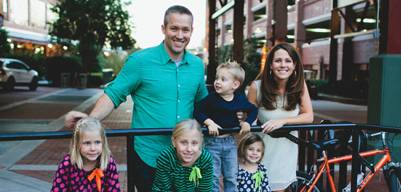 Dr. J.D. Greear and Family