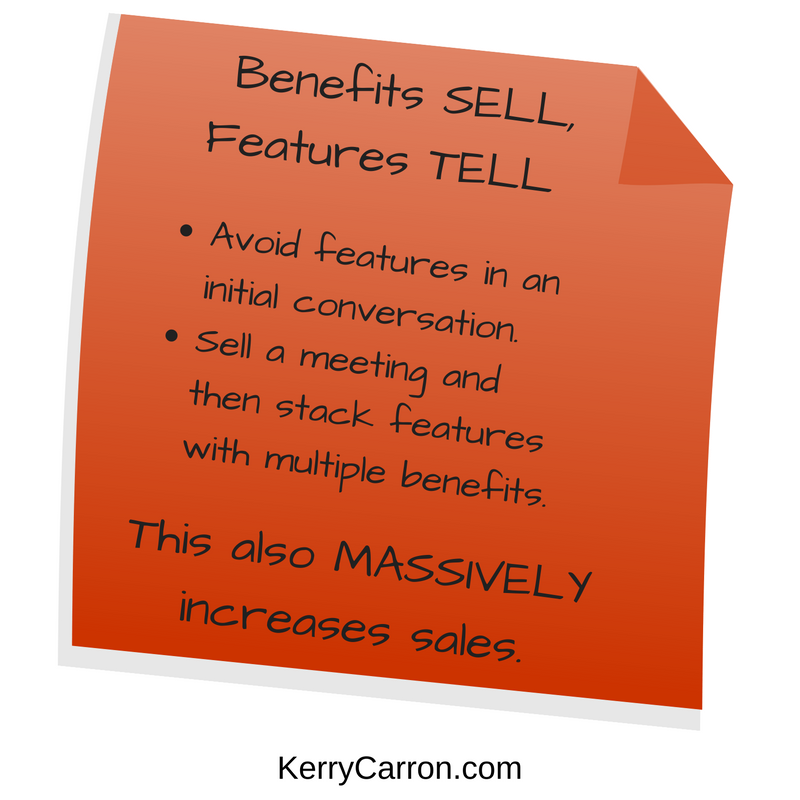 Benefits Sell