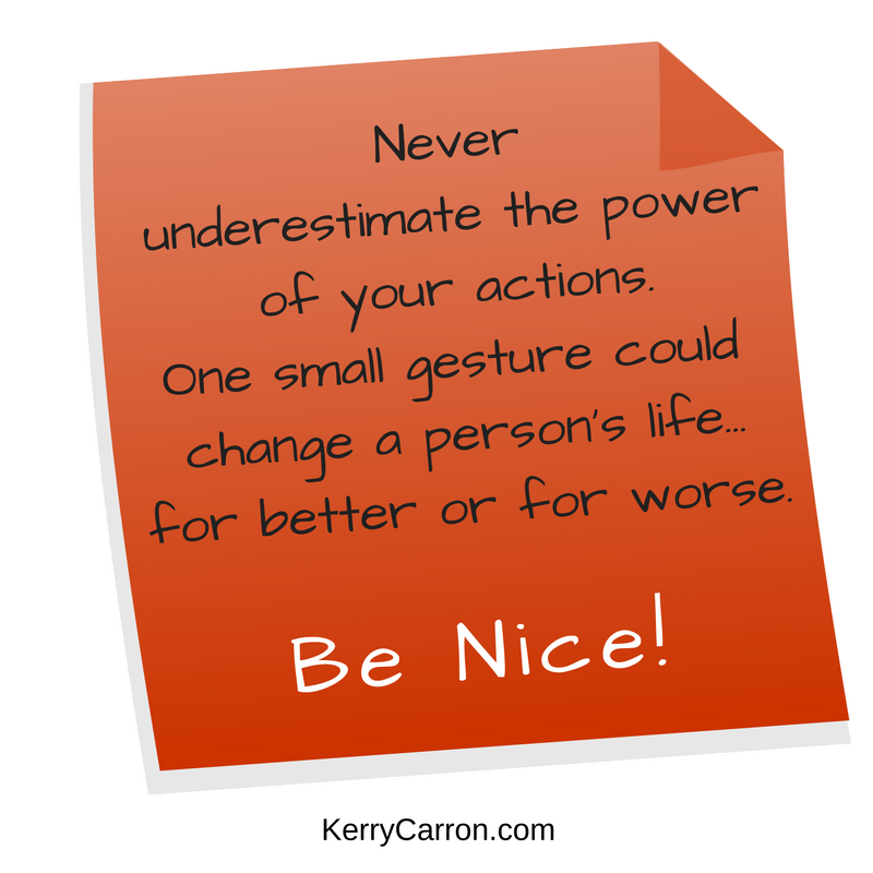 Be Nice