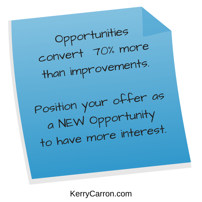 Offer Opportunities