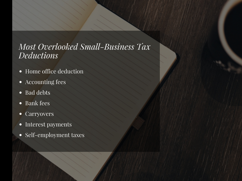 Overlooked Deductions