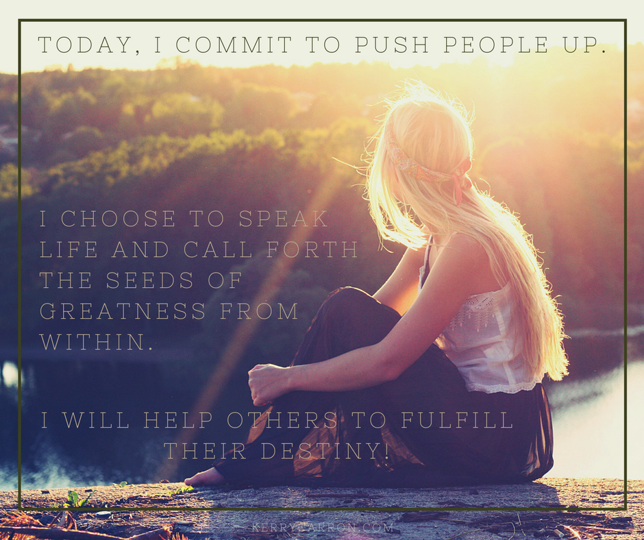 Believing in Business - Push People Up
