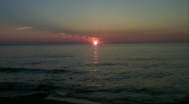 I will be with you - Superior Sunset