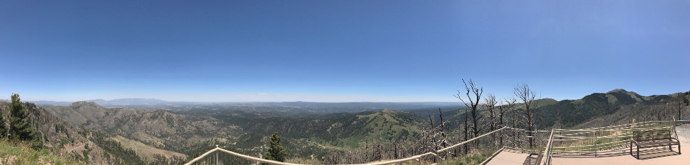 Windy Point Vista Panorama